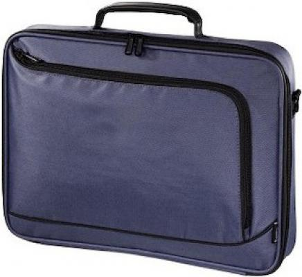 "Сумка для ноутбука 15.6"" Hama Sportsline Bordeaux полиэстер синий 101172"