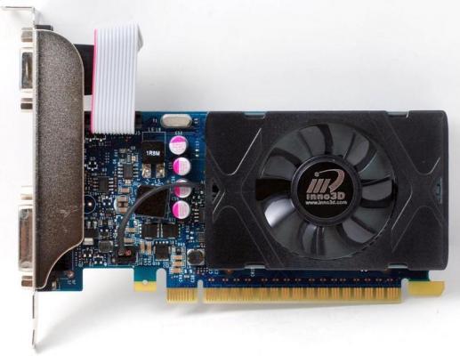 Видеокарта 1024Mb Inno3D GeForce GT730 LP c CUDA PCI-E 64bit GDDR5 DVI HDMI HDCP N730-3SDV-D5BX Retail видеокарта 2048mb inno3d geforce gt740 lp c cuda pci e 128bit gddr3 dvi hdmi hdcp n740 3sdv e3cx retail