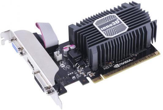 Видеокарта 2048Mb Inno3D GeForce GT730 c CUDA PCI-E 64bit SDDR3 DVI HDMI HDCP N730-1SDV-E3BX Retail