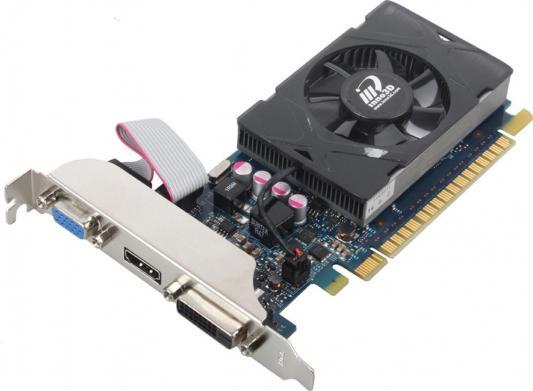 Видеокарта 2048Mb Inno3D GeForce GT730 LP c CUDA PCI-E 64bit GDDR5 DVI HDMI HDCP N730-3SDV-E5BX Retail
