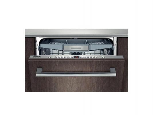 Встраиваемая посудомоечная машина Siemens SN66M094RU серебристый