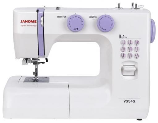 Швейная машина Janome VS 54S белый itech celb 54s черный