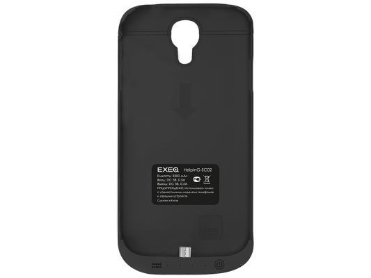 Чехол с аккумулятором EXEQ HelpinG-SC02 чёрный для Samsung Galaxy S4 3300мАч
