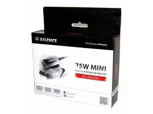 Блок питания для ноутбука Xilence SPS-XP-LP75.XM008 75Вт 11 переходников