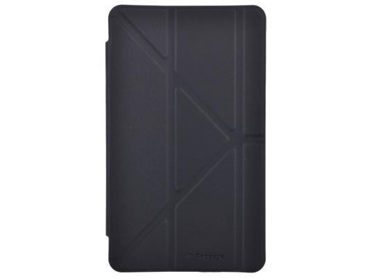 Чехол IT BAGGAGE для планшета Samsung Galaxy Tab4 8 Hard case искусственная кожа черный ITSSGT4801-1 чехол для планшета it baggage itssgt1035 1 для galaxy tab4 tab3 10 1 slim черный itssgt1035 1