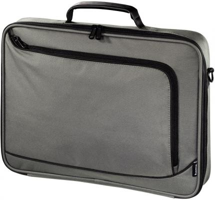 "Сумка для ноутбука 17.3"" Hama Sportsline Bordeaux полиэстер серый 101177"