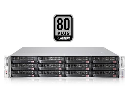 Серверный корпус 2U Supermicro CSE-826BE16-R920LPB 920 Вт чёрный