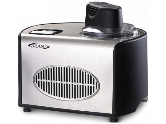 Мороженница Brand 3812 серебристый чёрный цена и фото