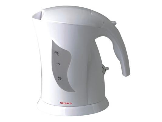 Чайник Supra KES-1201 900 Вт белый 1.2 л пластик