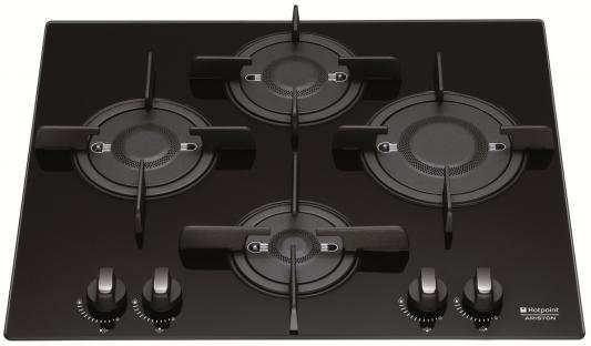 Варочная панель газовая Ariston DFPK 644 GH (K) черный варочная панель электрическая ariston kis 644 ddz черный