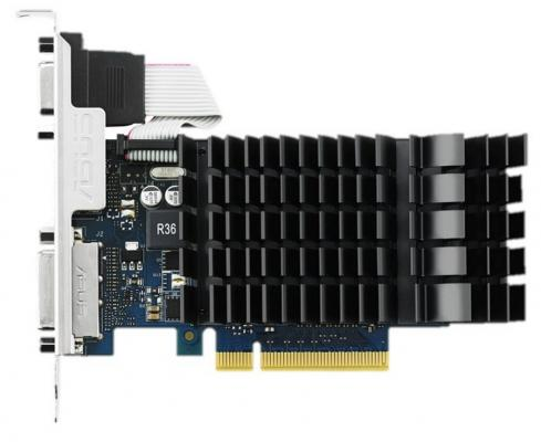 Видеокарта ASUS GeForce GT 730 GT730-SL-2GD3-BRK PCI-E 2048Mb 64 Bit Retail (GT730-SL-2GD3-BRK) видеокарта asus nvidia geforce gt 730 gt730 sl 2gd5 brk 2гб gddr5 ret