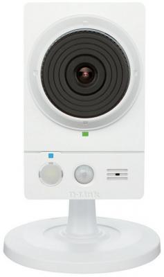 Камера IP D-Link DCS-2136L CMOS 1/3'' 1280 x 720 H.264 MJPEG MPEG-4 RJ-45 LAN Wi-Fi белый