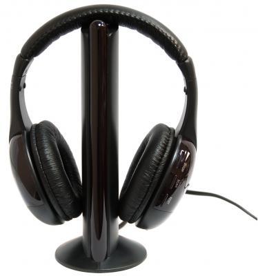 Наушники Dialog HP-H10RF черный беспроводные