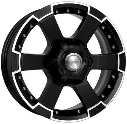 Диск K&K М56 7x16 6x139 ET30.0 Алмаз черный литой диск кик байкал 7x16 5x139 7 d98 et35 блэк платинум