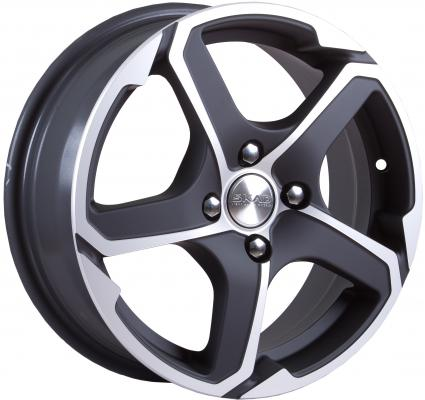Диск Скад Аллигатор 6x15 4x100 ET48.0 Алмаз матовый колесные диски кик сиеста оригинал 6x15 4x100 d60 1 et40 алмаз черный