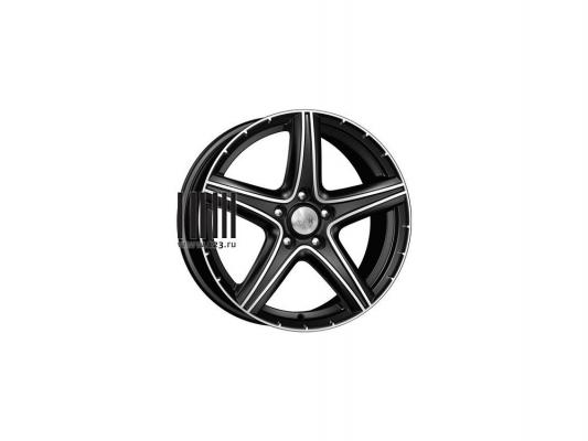 Диск K&K Барракуда 7.5x17 5x114 ET45.0 Алмаз черный колесные диски кик kc704 6 5x16 5x114 3 d67 1 et50 алмаз черный
