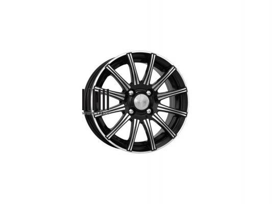Диск K&K Сиеста 5.5x14 4x100 ET40.0 Алмаз черный цена