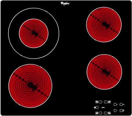Варочная панель электрическая Whirlpool AKT 8130/BA черный электрическая варочная поверхность whirlpool akt 8130 ba