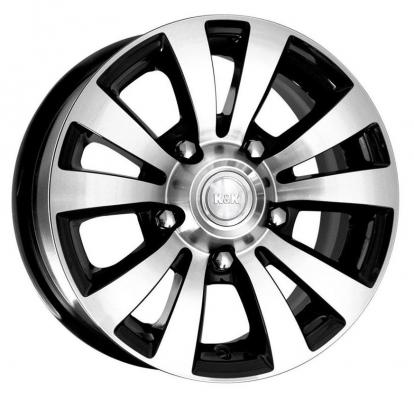 Диск K&K Фалкон-Нова 6x15 5x139 ET35.0 Алмаз черный диск ifree лайт круз 6x15 5x139 7 et40 хай вэй