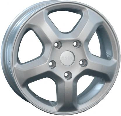 Диск Replay RN35 Sil 6xR16 5x118 мм ET50 Silver диск replay ty86 8 5xr20 5x150 мм et58 silver