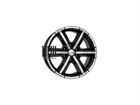Диск K&K Окинава 7.5x17 6x139 ET38.0 Алмаз черный диск kk r7 рольф оригинал кс457 7 5xr17 6x139 7 et38 d67 1 алмаз черный