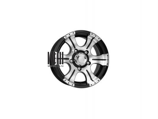 Литой диск КиК Байконур 8x16/5x139.7 D110.1 ET-15 алмаз черный - фото 9