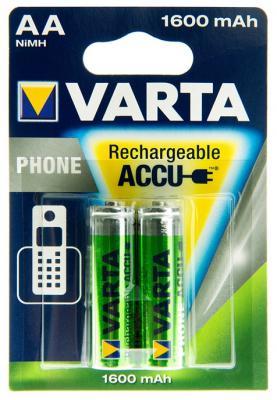 Аккумуляторы Varta Phone Power 1600 mAh AA 2 шт new original replacement projector color wheel for benq mp575 mp525p ep3725p dlp projector free shipping