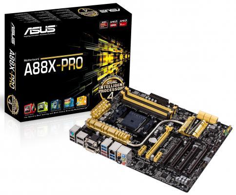 Мат. плата для ПК ASUS A88X-PRO Socket FM2+ AMD A88X 4xDDR3 3xPCI-E 16x 2xPCI 2xPCI-E 1x 6xSATAIII ATX Retail