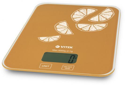 Весы кухонные Vitek VT-2416 OG оранжевый недорго, оригинальная цена