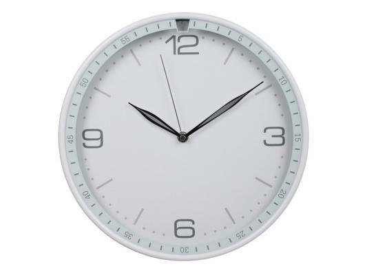 Часы Бюрократ WallC-R06P/white настенные аналоговые белый 812701