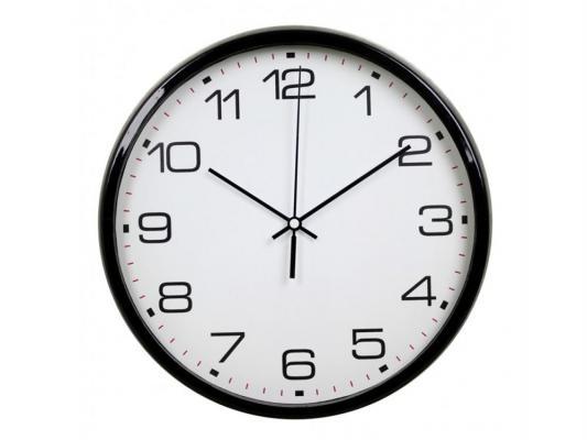Часы настенные BURO WallC-R07P чёрный