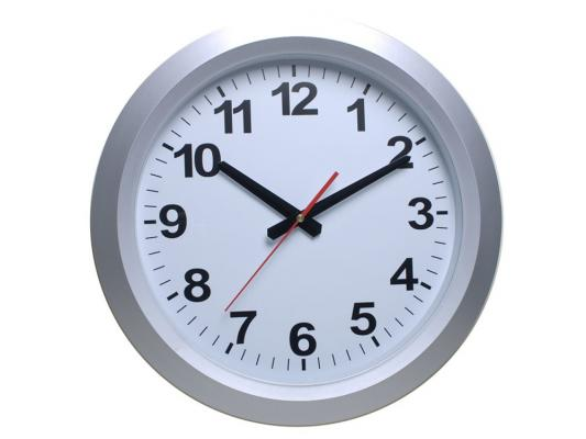 Часы настенные BURO WallC-R010P 812695 аккумуляторная дрель шуруповерт makita 14 4v 1 5ah x2 case df347dwle