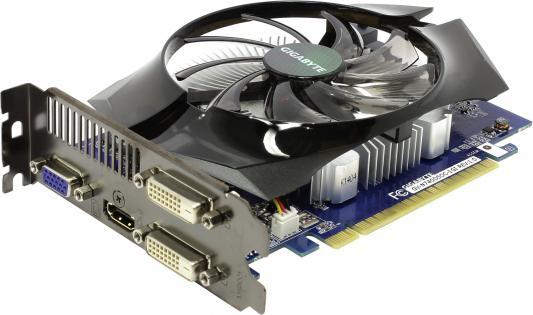 Видеокарта 1024Mb Gigabyte GT740 PCI-E GDDR5 128bit VGA HDMI 2хDVI HDCP GV-N740D5OC-1GI Retail