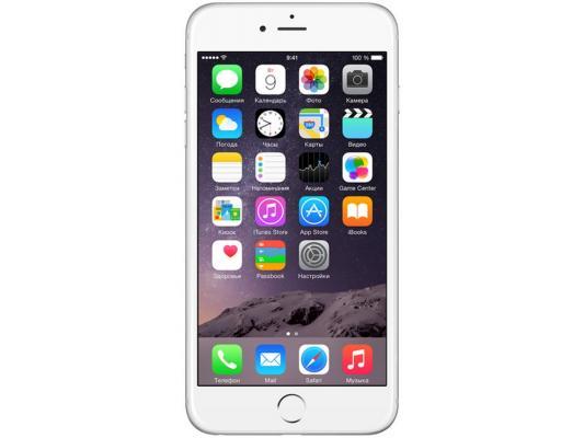 """Смартфон Apple iPhone 6 Plus серебристый 5.5"""" 16 Гб NFC LTE Wi-Fi GPS MGA92RU/A"""