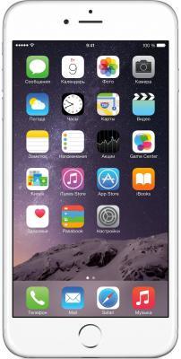 "Смартфон Apple iPhone 6 Plus серебристый 5.5"" 64 Гб NFC LTE Wi-Fi GPS 3G MGAJ2RU/A"