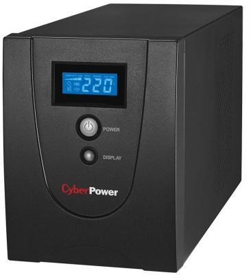 ИБП CyberPower 1200VA VALUE 1200EI-LCD черный cyberpower value 500ei b ибп