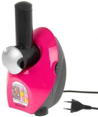 Сорбетница Maxwell MW-1443 РК 130Вт черно-розовый