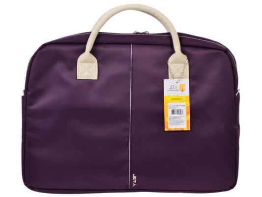 Сумка для ноутбука 15.6 Jet.A LB15-72 нейлон фиолетовый