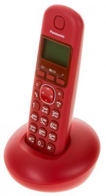 Радиотелефон DECT Panasonic KX-TGB210RUR красный телефон dect gigaset l410 устройство громкой связи