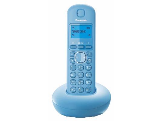 Радиотелефон DECT Panasonic KX-TGB210RUF голубой радиотелефон