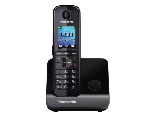 Радиотелефон DECT Panasonic KX-TG8151RUВ черный