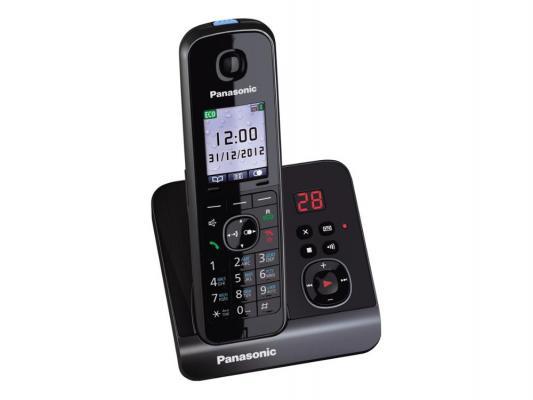 Радиотелефон DECT Panasonic KX-TG8161RUВ черный