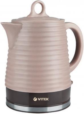 Чайник Vitek VT-1135 BN 1900 Вт коричневый 1.2 л керамика