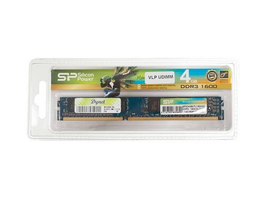 Оперативная память 4Gb PC3-12800 1600MHz DDR3 DIMM Silicon Power