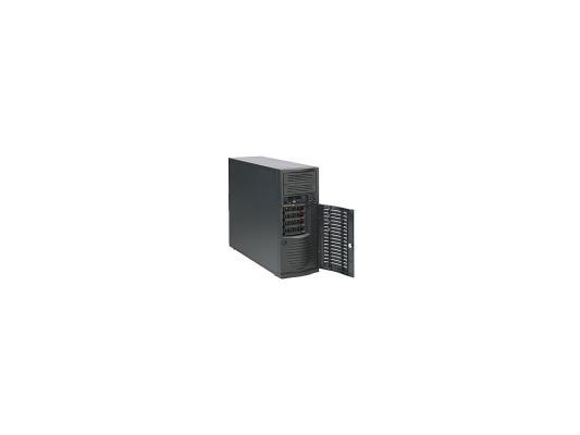 Серверный корпус E-ATX Supermicro CSE-733TQ-500B 500 Вт чёрный корпус серверный supermicro cse 732d4 500b cse 732d4 500b
