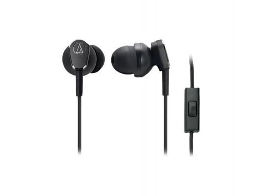 Наушники Audio-Technica ATH-ANC33iS черный наушники audio technica ath ava400 black