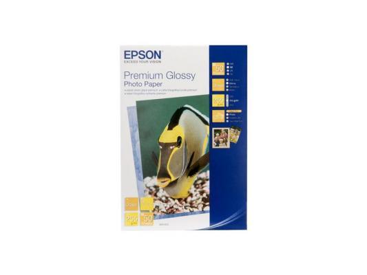Фотобумага Epson 13x18см 255г/кв.м глянцевая C13S041875