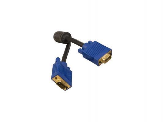 цена на Кабель VGA 5.0м Ningbo черный CAB015S-5m