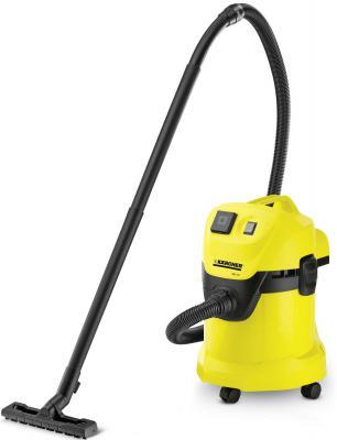 Пылесос Karcher MV 3 P/WD 3 P с мешком сухая уборка 1400Вт желтый 1.629-880.0