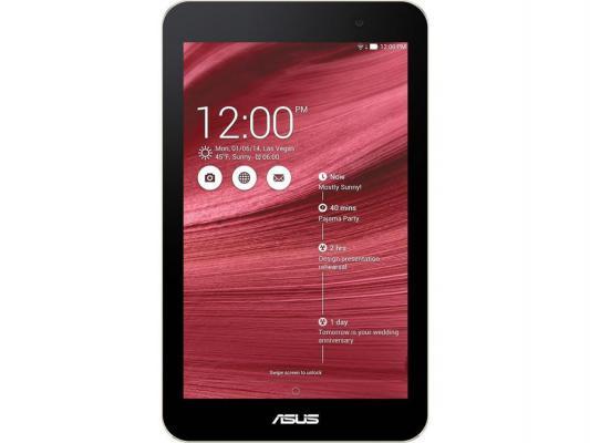"Планшет ASUS MeMo Pad ME176CX 8Gb 7"" 1280x800 Z3745 1Gb BT WiFi Android 4.4 красный 90NK0132-M04960"